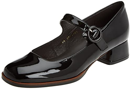 Charol 40804, Zapatos de Tacón con Punta Cerrada para Mujer, Negro (Black), 39 EU Gadea