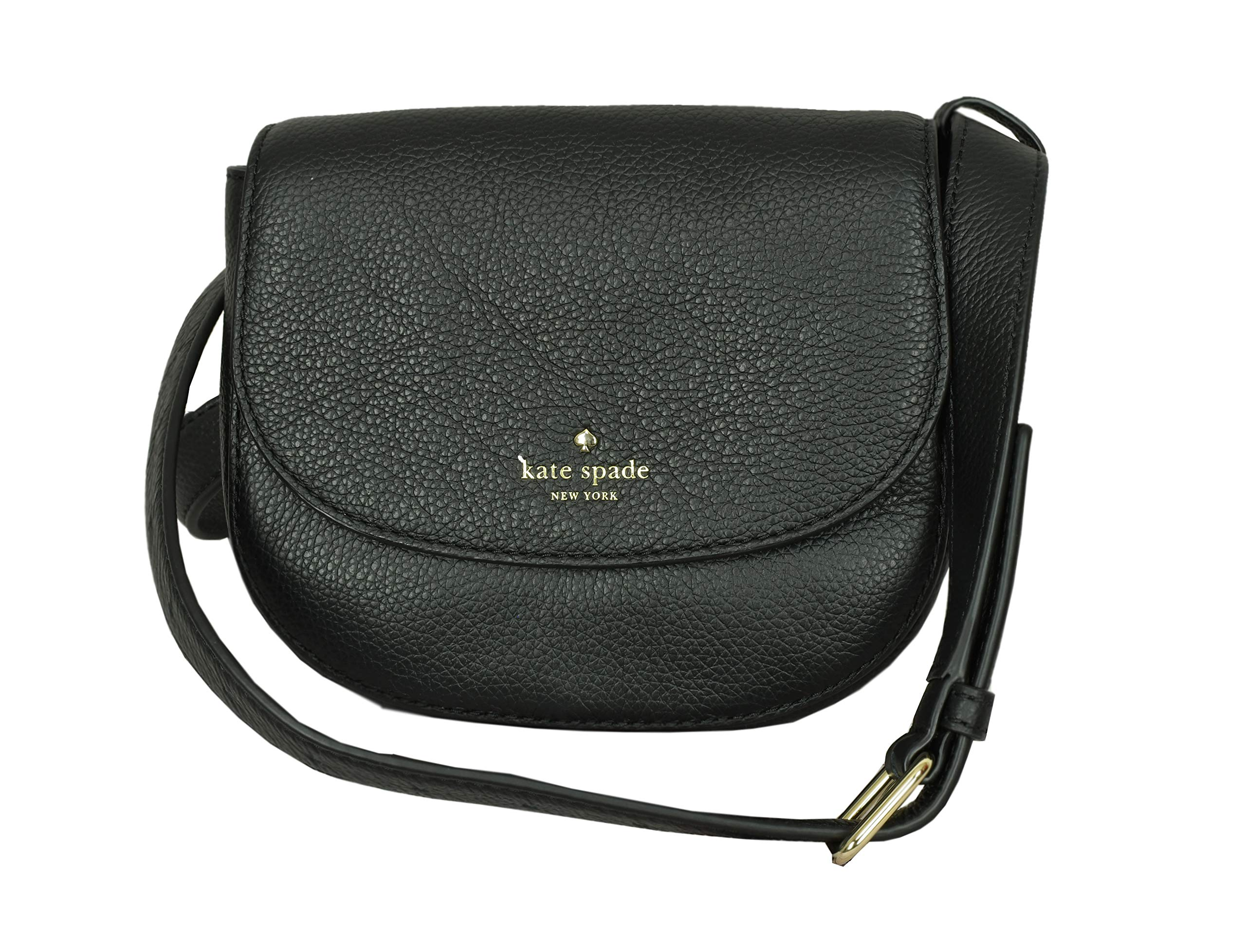 Kate Spade New York Kimbra Larchmont Avenue Fanna Pack Belted Womens Bag (BLACK)