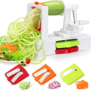 Folksmate Spiralizer Vegetable Slicer Spiralizer