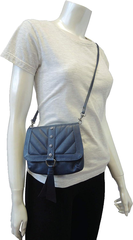 Sharif 1827 Genuine Tumbled Leather Convertible Back Pack//Hobo//Crossbody Bag
