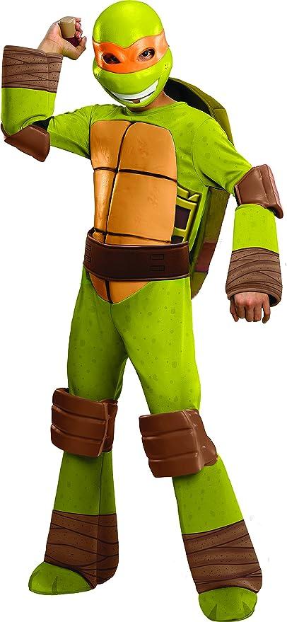 Amazon.com: Disfraz de Michelangelo de Las tortugas ninja, S ...