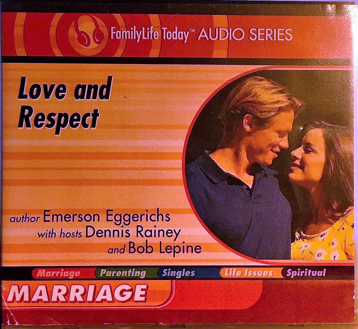 Love And Respect Marriage 2 Disc Audio Book Family Life Today Audio Series Emerson Eggerichs 9781572298446 Amazon Com Books