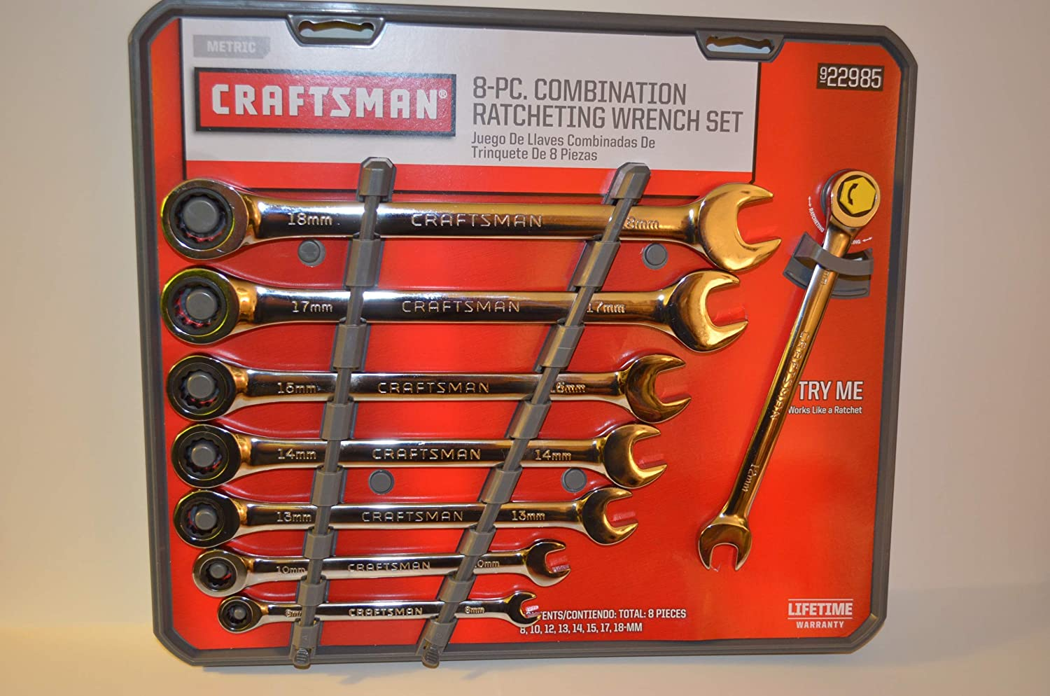 New Craftsman Ratcheting Combination Wrench
