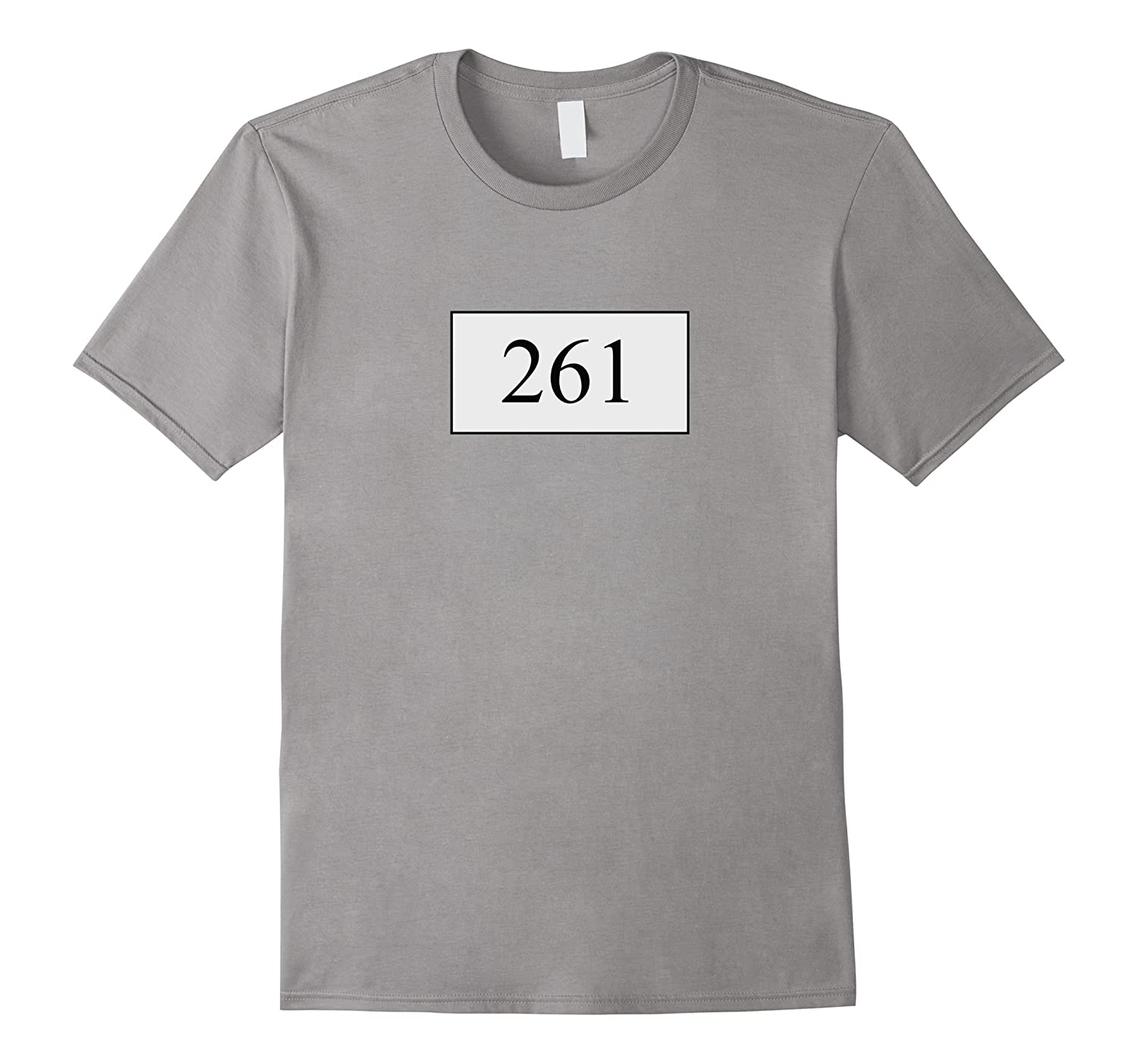 261 Marathon Number T-Shirt running gifts-TD