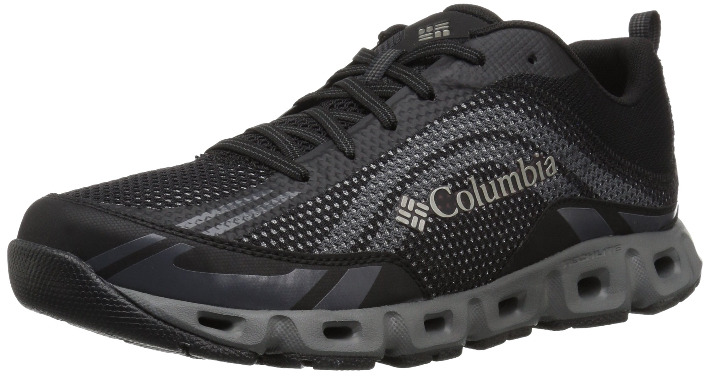 Columbia Men's Drainmaker IV Water Shoe, Black, Lux, 10.5 Regular US by Columbia