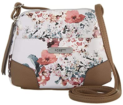 Image Unavailable. Image not available for. Color  Rosetti Blushing  Blossoms June Mini Crossbody Handbag One Size White multi a0710f2210a3a