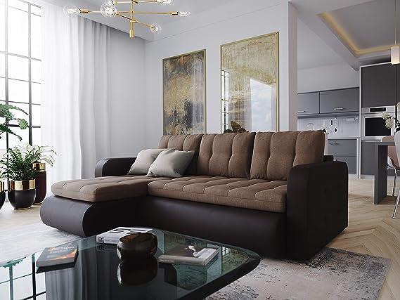 Nowak Corner Sofa Vegas Couch Sofa With Sleeping Function