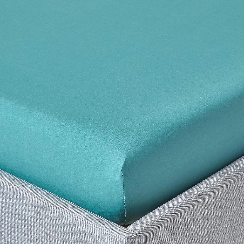 100/% Ägyptische Baumwolle Spannbetttuch Bettlaken Jersey Spannbettlaken Grau