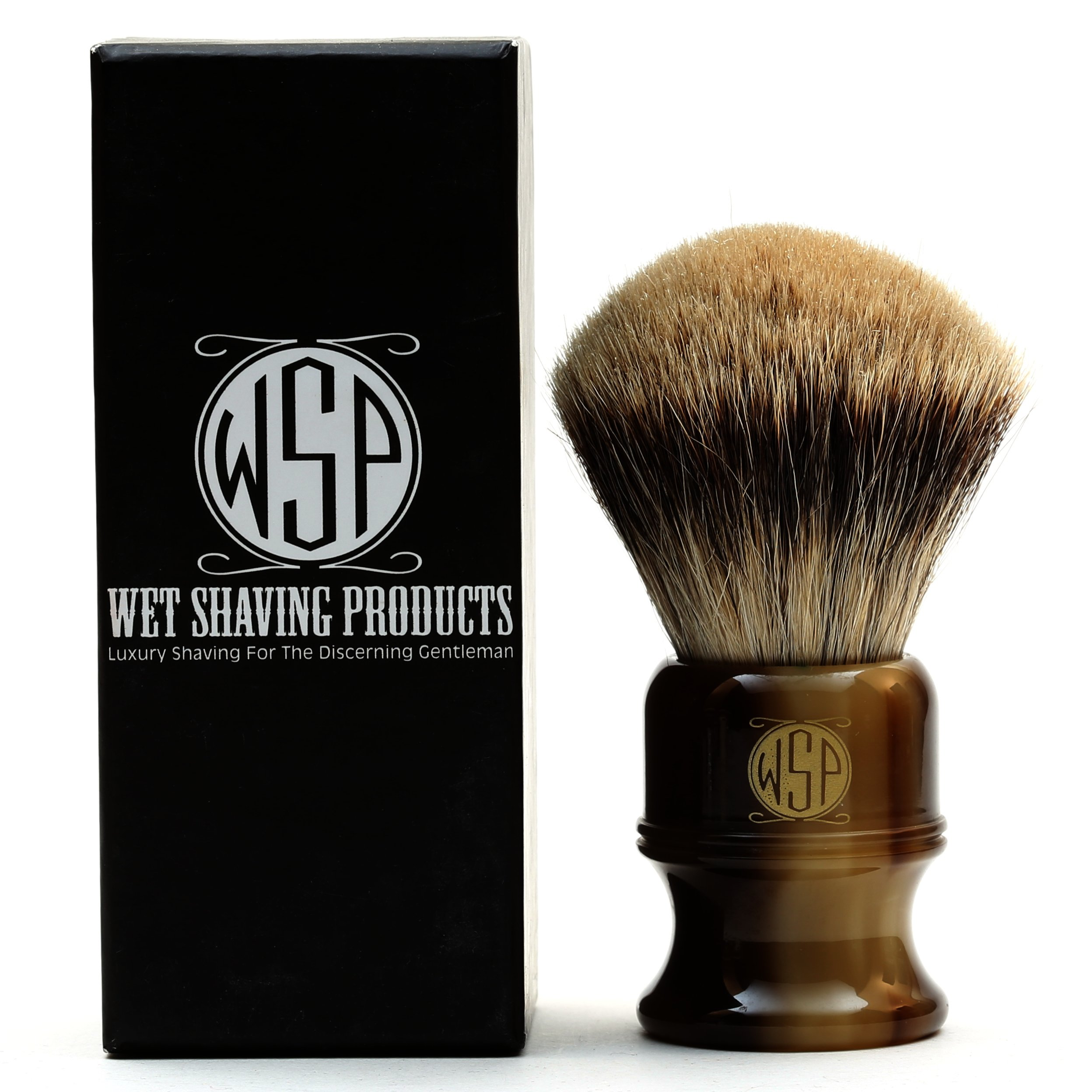 XL Extra Dense Best Badger Shaving Brush WSP ''Stubby'' by Wet Shaving Products