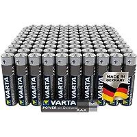 Varta Power On Demand AAA Micro Batterijen (Verpakking Met 100 Stuks - Smart, Flexibel En Krachtig, Smart Home-Apparaten…