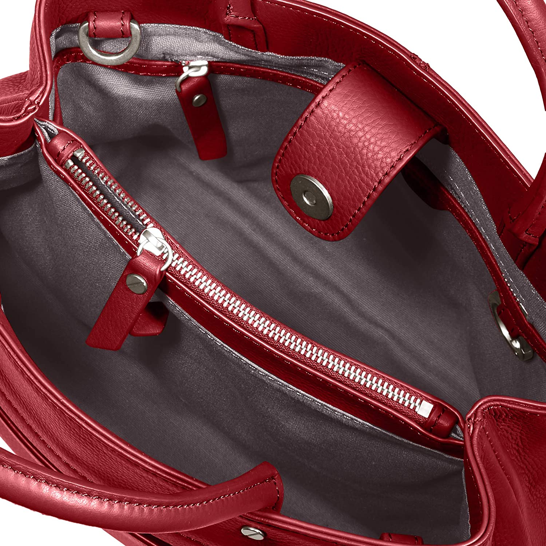 Rot Liebeskind Berlin Damen Mini Daily 2-Satchel Small Henkeltasche 11x22x27 cm Dahlia Red