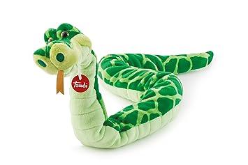 Trudi Serpente Peluche Serpiente Cyrano, Color Verde, 66 cm (27765)