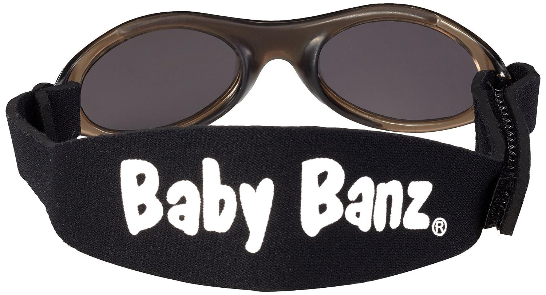 f0315bdcaa Baby Banz - Gafas de sol Ovaladas para niños, Black, 0-2 anos: Amazon.es:  Ropa y accesorios