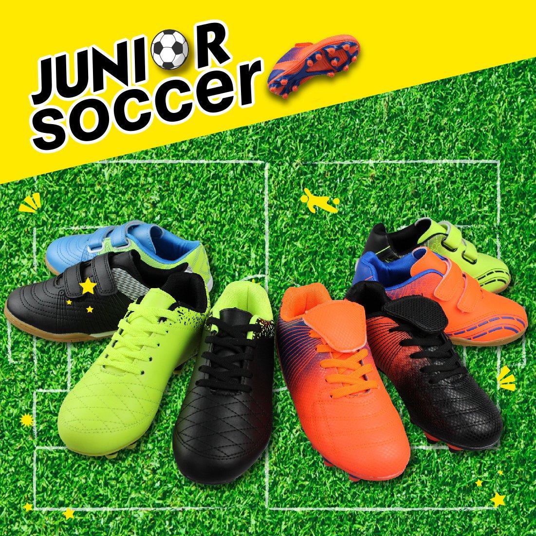763902c46b135 Hawkwell Athletic Zapatos cómodos de fútbol para Niños Niñas