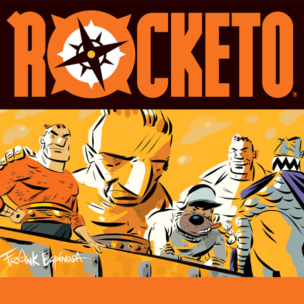 Rocketo (Issues) (2 Book Series)