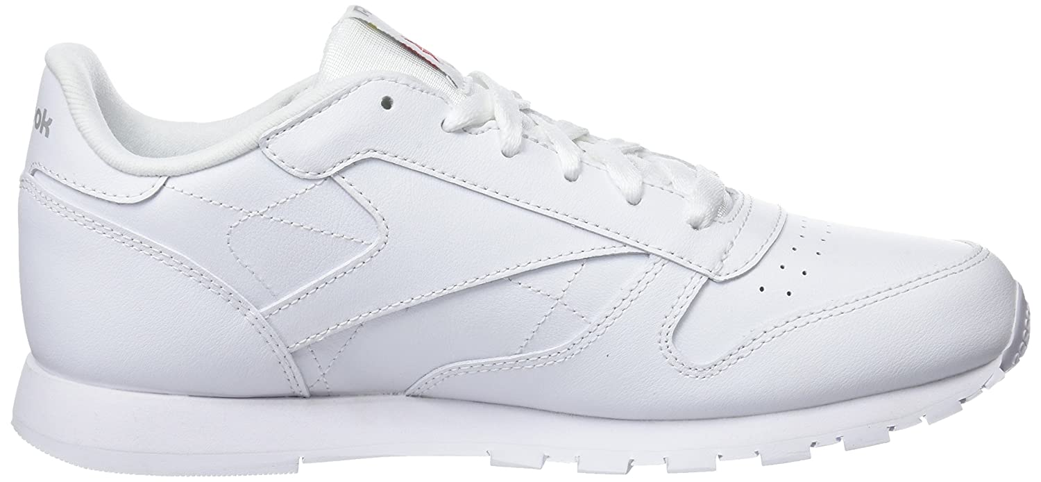 48a25590a Reebok Boys Classic Leather White Sports Shoes - 3 Kids UK/India (19 EU)  (3.5 US) (50151): Buy Online at Low Prices in India - Amazon.in