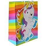 Rainbow Unicorn Gift Party Favor Bags (1 Dz)
