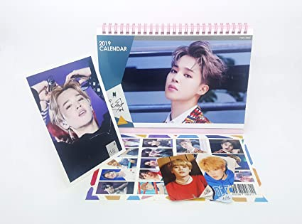 Bts Calendar 2020 Amazon.: BTS Bangtan Boys 2019 2020 Desk Calendar, Stand Photo