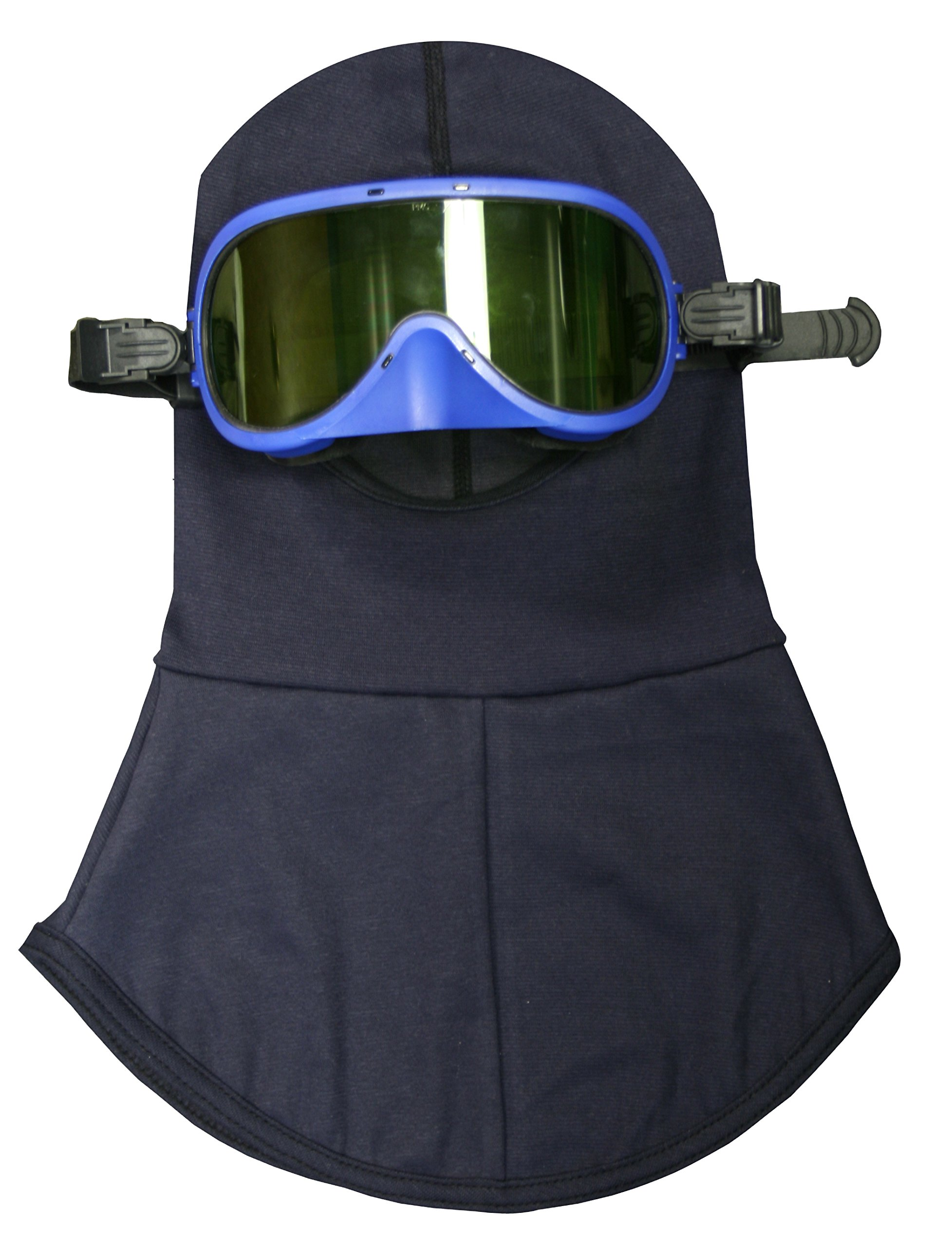 National Safety Apparel KITHP12GGL ArcGuard Arc Flash Goggle and Hood Combination, 12 Calorie, One Size