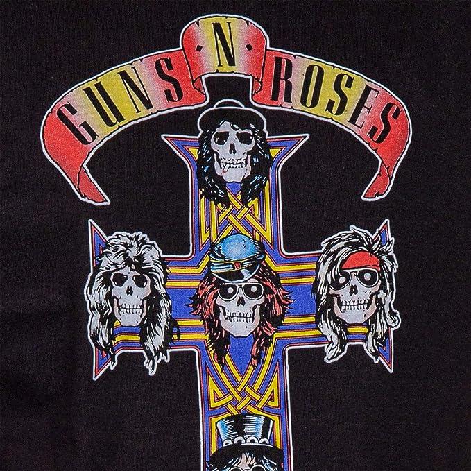 Amazon.com: Guns N Roses Appetite for Destruction - Camiseta ...