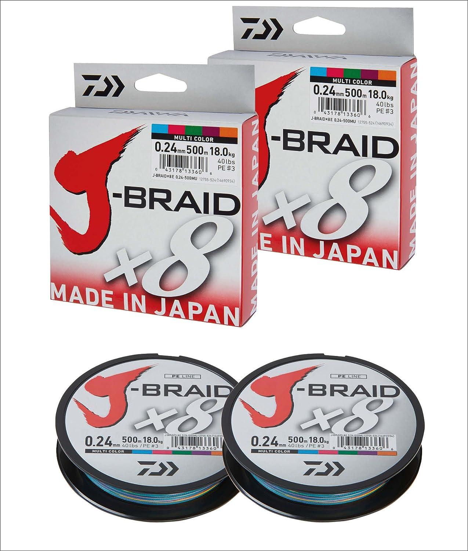 Daiwa j-Braid x8/500/m
