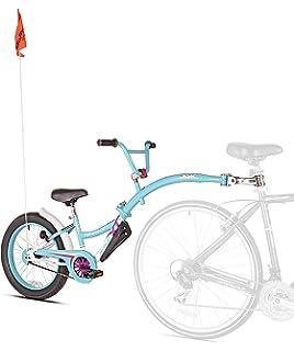 Weeride Co-Pilot XT Bicicleta Tamden Remolque para Niños