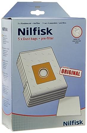 Nilfisk 81846000 - Pack de 5 bolsas de papel para Gm200 ...