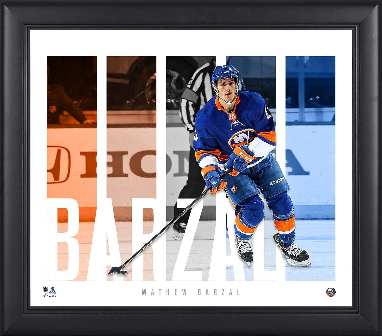 hot sale online 4474d 08bc1 Amazon.com  Mathew Barzal New York Islanders Framed 15