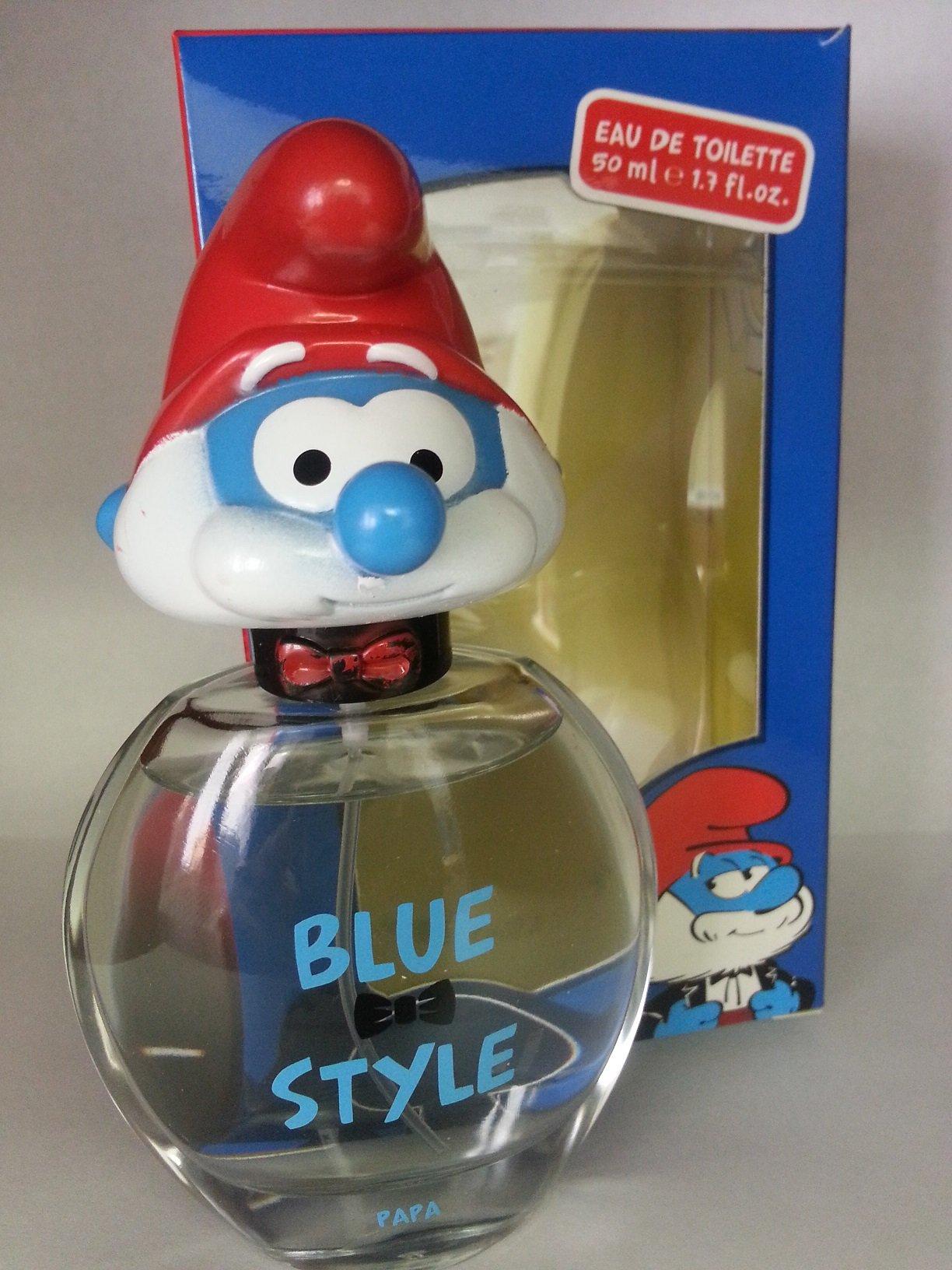 First American Brands Kids Smurfs 3D Papa Perfume, 1.7 Ounce