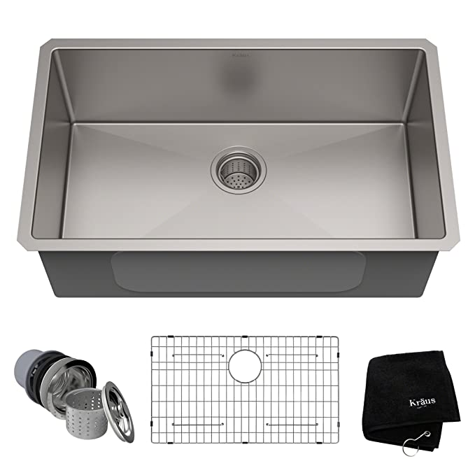 Best Undermount Kitchen Sink: Kraus KHU100-30 Kitchen Sink