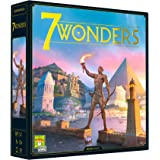 7 Wonders Board Game (BASE GAME) - New Edition | Family Board Game | Board Game for Adults and Family | Civilization and Stra