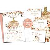 Little Pumpkin Baby Shower Invitation Bundle
