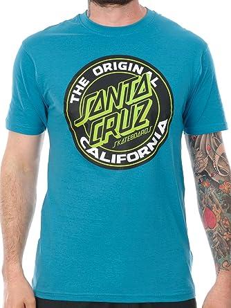 Camiseta Santa Cruz Cali Dot Colour Azul (S , Azul) : Amazon ...