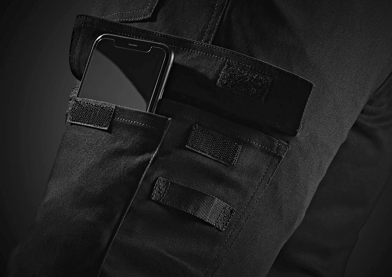 Dickies Flex en plomb Pantalon-Homme Cargo Poche Travail Pantalon TR2009