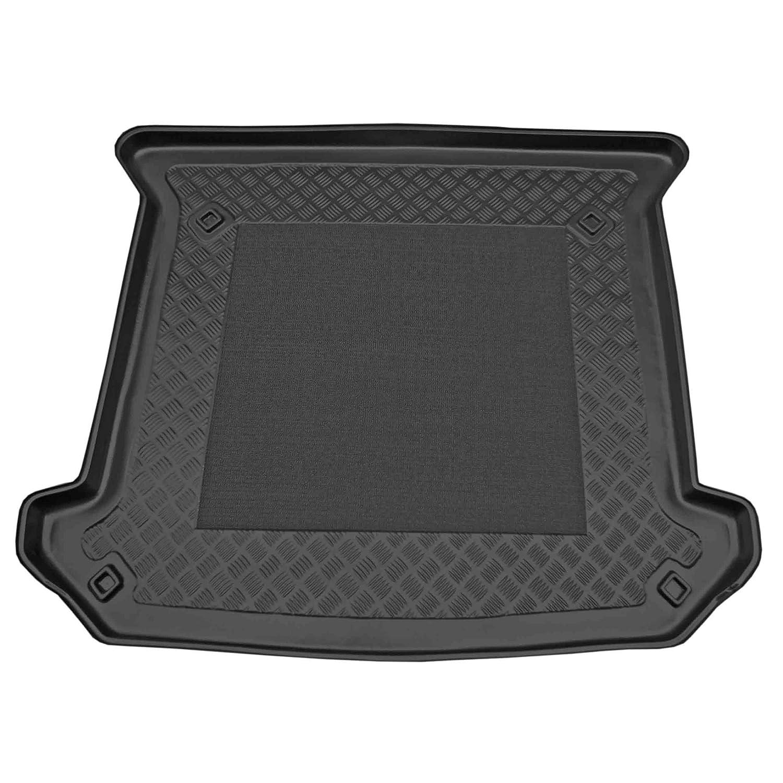 ZentimeX Z902468 Vasca baule su misura con superficie scanalata e integrato tappeto antiscivolo