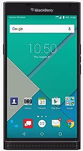 BlackBerry PRIV (32GB) Verizon Factory Unlocked Phone (GSM + CDMA) - U.S. Version STV100-2 (Black)