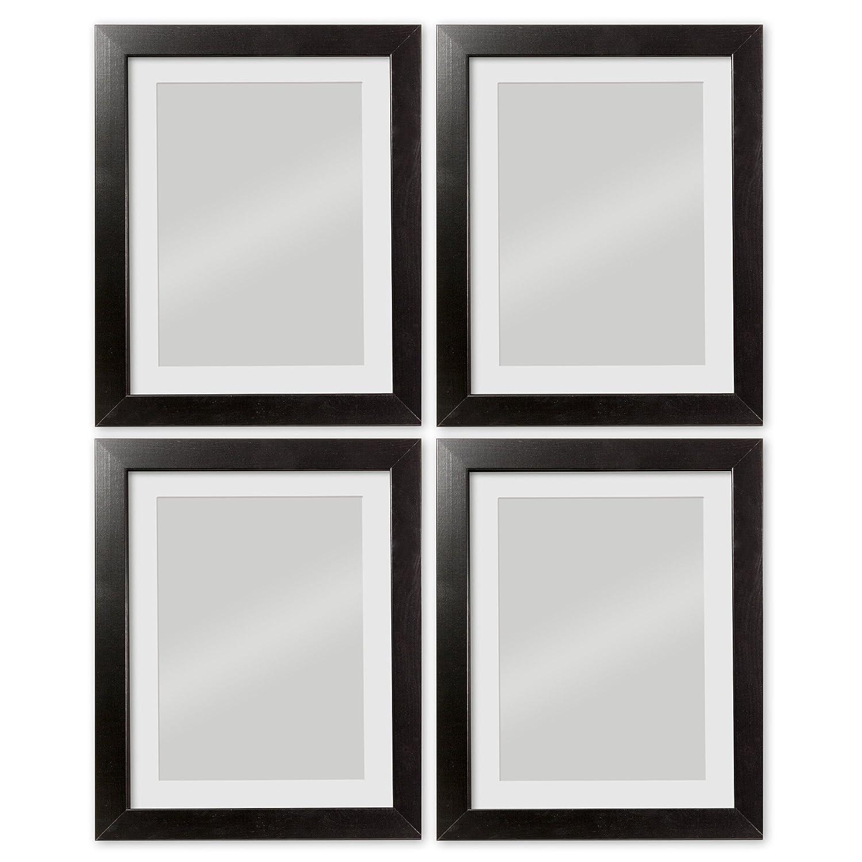 Amazon.de: GMGold Bilderrahmen, 20x16 for image 15x10, Black 4 Piece ...