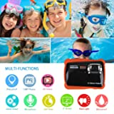 Kids Waterproof Camera, ZCGC WTDC-5262 Digital
