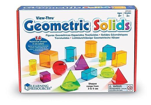 3 opinioni per Learning Resources- Forme geometriche trasparenti