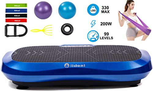 lldeal Ultra Thin Third Generation Vibration Plate Exercise Machine