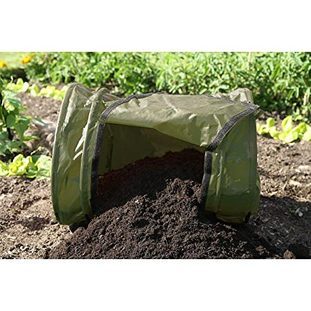 Compostador Haxnicks 68x68x54 cm: Amazon.es: Jardín