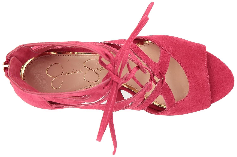 Jessica Simpson Sandalia de Pink tacón de mujer Sunset Mitta Sunset ...
