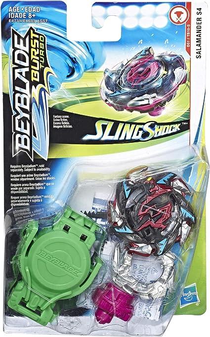 Beyblade Burst Turbo Slingshock Starter Pack Salamander S4