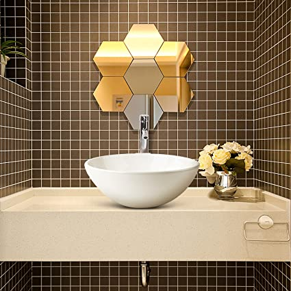 Ainfox Vessel Sink Vanity Bowl Ceramic, Faucet Pop-up Drain White ...