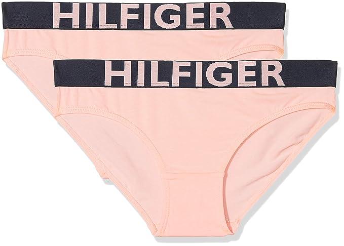 Tommy Hilfiger M/ädchen Unterhose 2er Pack