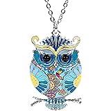 Amazon.com: Juego de joyas de búho vintage para niñas de ...