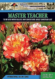 Master teacher 2nd quarter 2016 sunday school kindle edition by master teacher 3rd quarter 2017 sunday school fandeluxe Choice Image