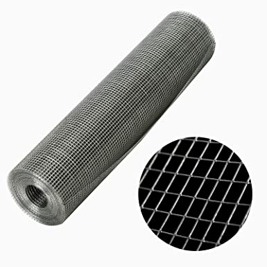 24 50 Hot-dip Galvanized Woven Wire Mesh Widely Used 0.6m 15.2m