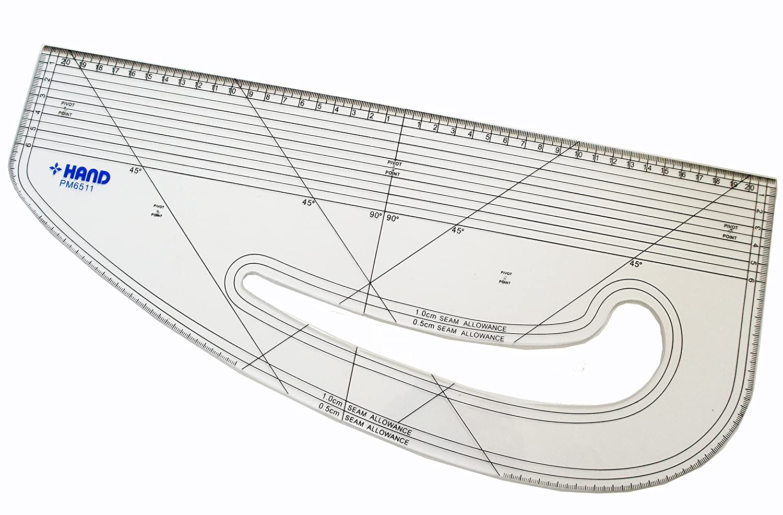HAND Pattern Marking Ruler- Hard Plastic ToyMarket