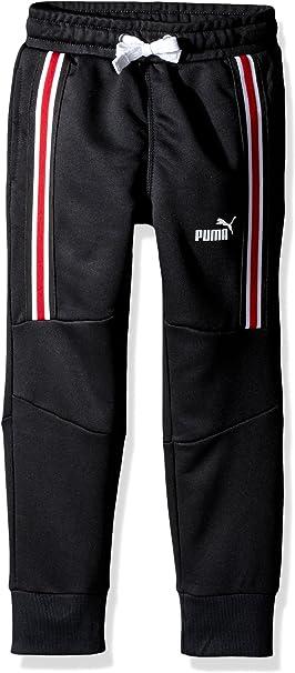 Black Puma Big Boys/' Hoodie and Jogger Pants Set